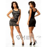Короткое женское платье  Вена