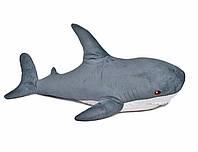 Большая мягкая игрушка Акула 100 см серая Fancy AKL3