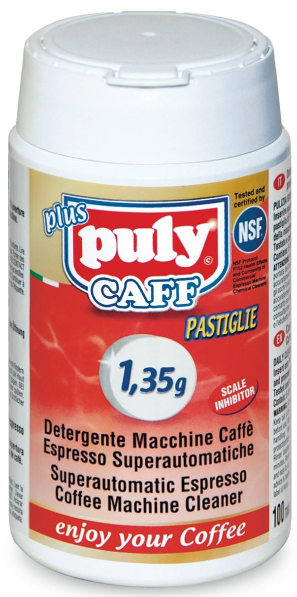 Средство для чистки кофейных смол Puly Caff в таблетках 100шт по 1,35г