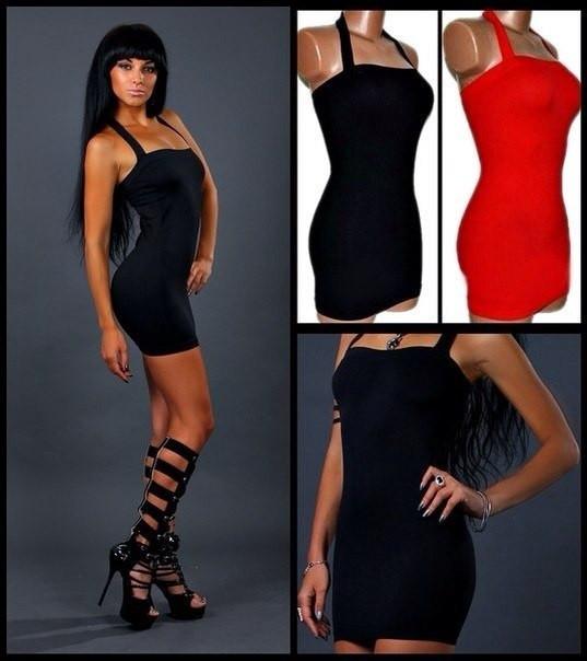 Клубное мини платье