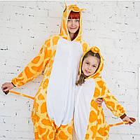 Кигуруми жираф (пижама взрослая) kmy0028