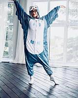 Кигуруми Сова синя (піжама доросла) kmy0020