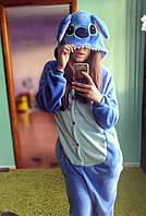 Кигуруми стич голубой (пижама взрослая) kmy0012