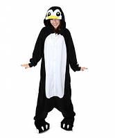 Кигуруми пингвин черно-белый (взрослый) kmy0081