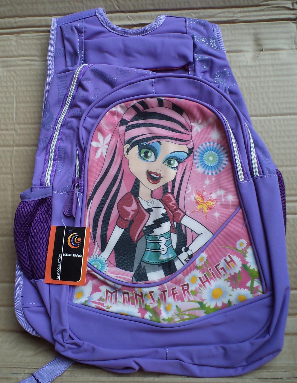 Детский школьный рюкзак №276 (св.фиолетовый)