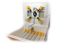 Міні-інкубатор (63/28/200 яєць)12 В/автоматичний переворот/пінопласт ТМТЕПЛУША