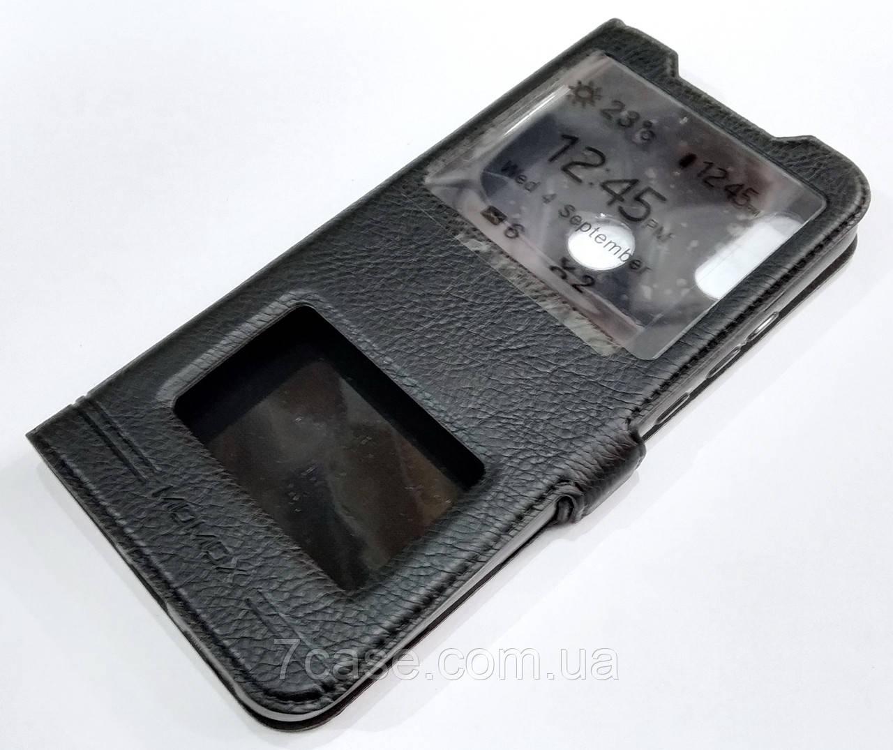 Чехол книжка с окошками momax для Xiaomi Redmi 7