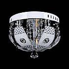 """Люстра """"торт"""" на 3 лампочки с LED подсветкой на пульте управления СветМира VL-2235/300/3, фото 2"""
