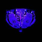 """Люстра """"торт"""" на 3 лампочки с LED подсветкой на пульте управления СветМира VL-2235/300/3, фото 6"""