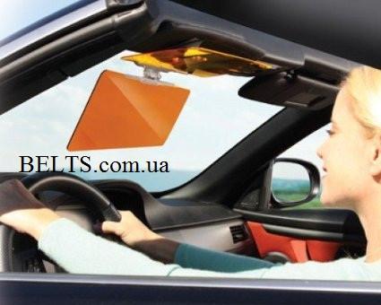 Солнцезащитный антибликовый козырёк HD Visor (Clear View), ЭйчДи Визор Клир Вью