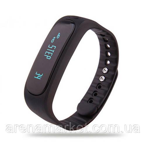 Фитнес-часы E02 - черный цвет