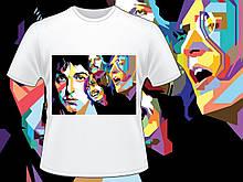 """Футболка з принтом """"The Beatles"""""""