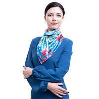 Платок женский шелковый 90*90 см amo (АМО) stamop90902