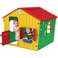 Детский игровой домик Starplast 01-561 красно-желто-зеленый