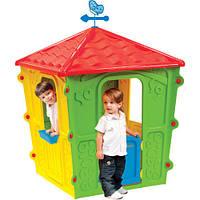 Детский пластиковый игровой домик Starplast 56-560 красно-желто-зеленый