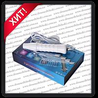 Дарсонваль косметологический аппарат для ухода за кожей лица и тела, 4 насадки