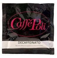 Кофе в монодозах (чалдах) Caffe Poli Decafeinato