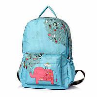 Школьный рюкзак для мальчика Слон, голубой ViViSECRET