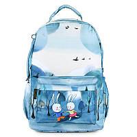 Рюкзак для девочки Зайки зимой ViViSECRET