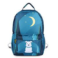 Школьный рюкзак для мальчика Пес ночью ViViSECRET