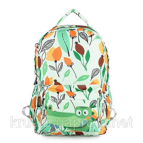 Школьный рюкзак Крокодил ViViSECRET, фото 2