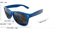 Солнцезащитные классические очки Wayfarer, очки унисекс, для женщин и мужчин, цвет оправы - черно-синий