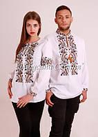 Парні вишиванки.Сорочка жіноча + сорочка чоловіча МВ-68п, фото 1