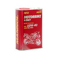 Високотехнологічнамоторнаолива MANNOL 7812 Motorbike 4-Takt API SL  1л.