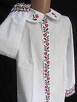 "Блуза с вышивкой ""Панночка"", 116-122 рост, 230\190 (цена за 1 шт. + 40 гр.)"