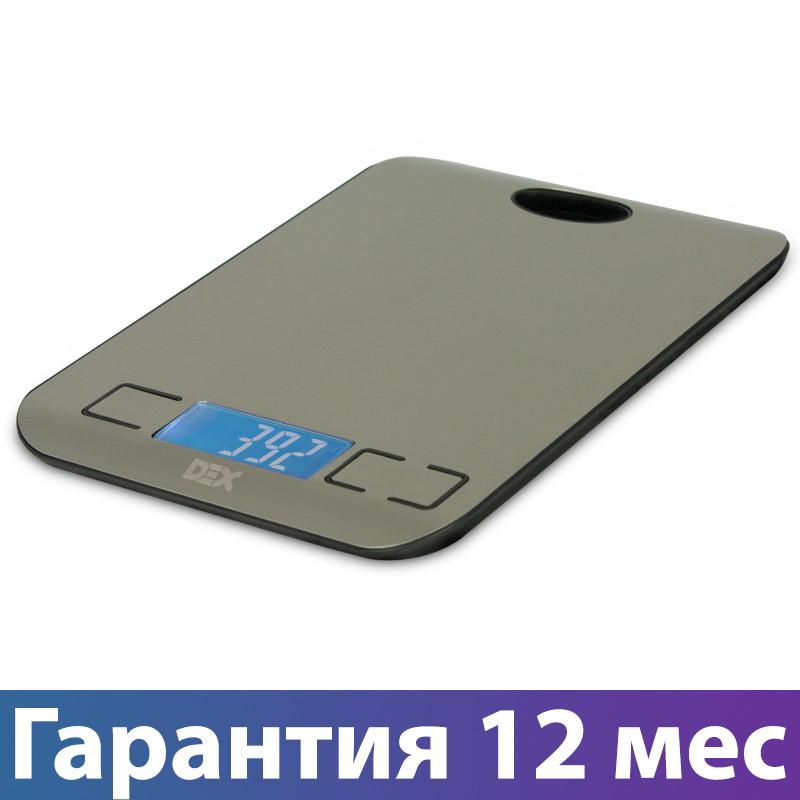 Весы кухонные DEX DKS-410, электронные весы для кухни, електронні кухонні ваги