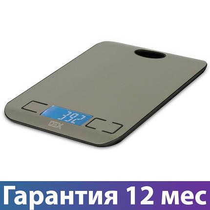 Весы кухонные DEX DKS-410, электронные весы для кухни, електронні кухонні ваги, фото 2