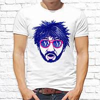 Мужская футболка с принтом Бородач Push IT