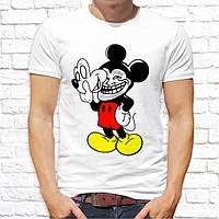 Мужская футболка с принтом Микки Маус Push IT