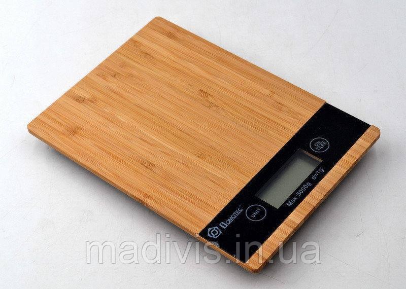 Весы кухонные Domotec MS-A (5 кг.)