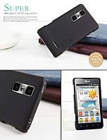 Чехол Nillkin для LG Optimus 3D Max P725 / 3D Cube чёрный (+пленка)