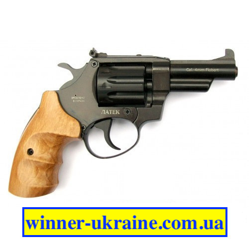 """Револьвер під патрон Флобера """"ЛАТЕК"""" Safari РФ-431М (Бук)"""