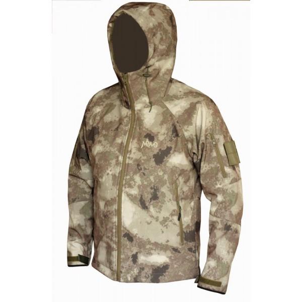 Тактическая куртка софтшел Softshell Stalker Commandor a-tacs а-такс XL 5/6 рост