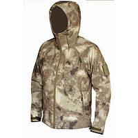 Тактическая куртка софтшел Softshell Stalker Commandor a-tacs а-такс XL 5/6 рост, фото 1