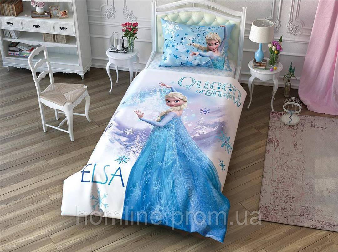 Постельное белье Tac Disney Холодное сердце Frozen Cek 160*220 подростковое