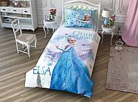(Картинка оживает) Постельное белье Tac Disney Холодное сердце Frozen Cek 160*220 подростковое