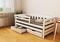 """Кровать детская подростковая """"Тедди Duo"""" 80*190/80*180 деревянная массив бук, фото 1"""