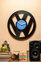 Часы настенные виниловые Volkswagen Фольксваген