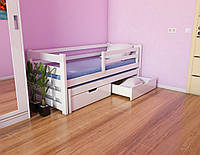 """Кровать детская подростковая """"Соня"""" 80*190/80*180 дерево массив бук, фото 1"""