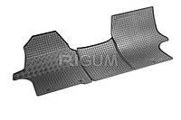 Коврики в салон Hyundai Н 350 15- Резиновые RIGUM Комплект из 4-х ковриков Черный