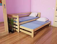"""Кровать детская подростковая """"Соня"""" 90*200/90*190 деревянная массив бук, фото 1"""