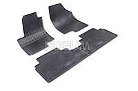 Коврики резиновые в салон Hyundai IX 20 09- / 15- RIGUM Комплект из 4-х ковриков Черный в салон