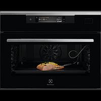 Компактная, встраиваемая духовка с функцией паровой печи и Wi-Fi Electrolux KVBAS21WX, фото 1