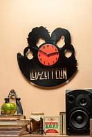 Часы настенные виниловые Led Zeppelin ver2 Лед Зеппелин