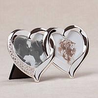 Фоторамка настольнаяLefard Сердца 21х11 см 009-02C рамка для фото сердце сердечки мультирамка