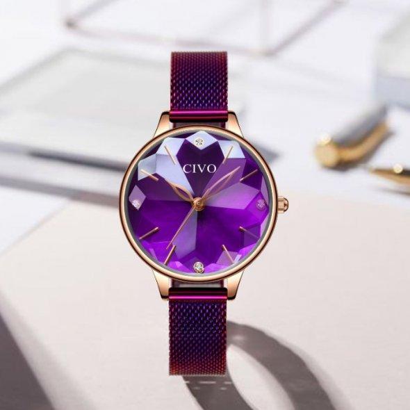 Женские наручные часы Civo Diamond